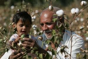 Cインド老人と子供